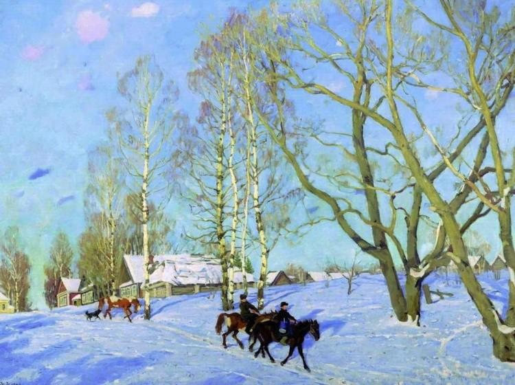 художник Константин Фёдорович Юон картины – 25