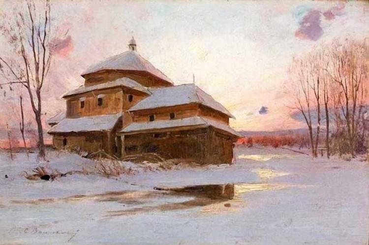 художник Сергей Иванович Васильковский картины – 09