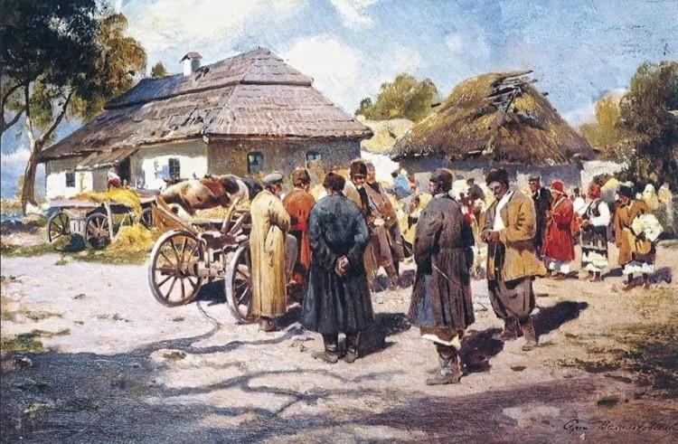 художник Сергей Иванович Васильковский картины – 33