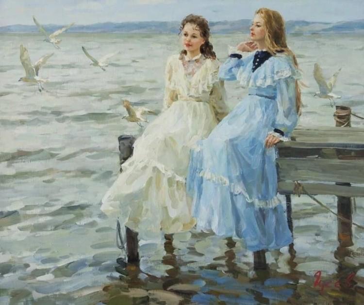художник Владимир Гусев картины – 19