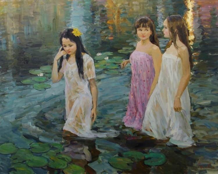 художник Владимир Гусев картины – 26