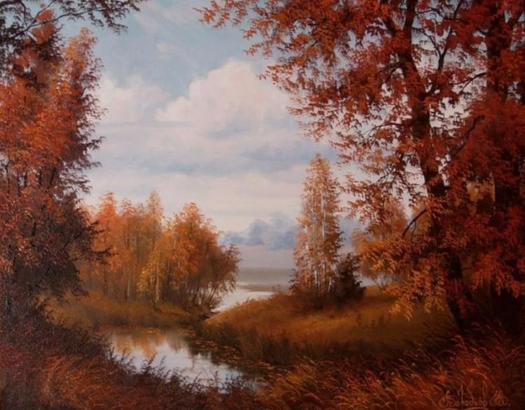 художник Владимир Воробьев картины – 12