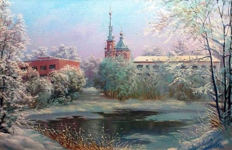 художник Владимир Воробьев картины – 18