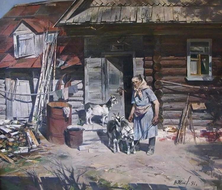 художник Вячеслав Жемерикин картины – 17