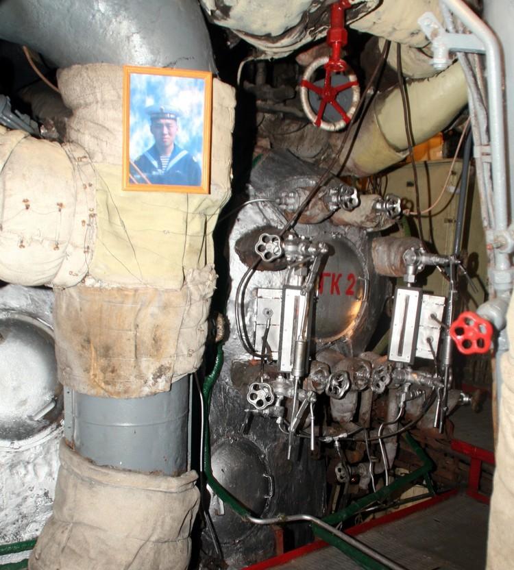 """Фотография Алдара в отсеке, где произошел пожар. Фото: предоставлено """"КП"""""""