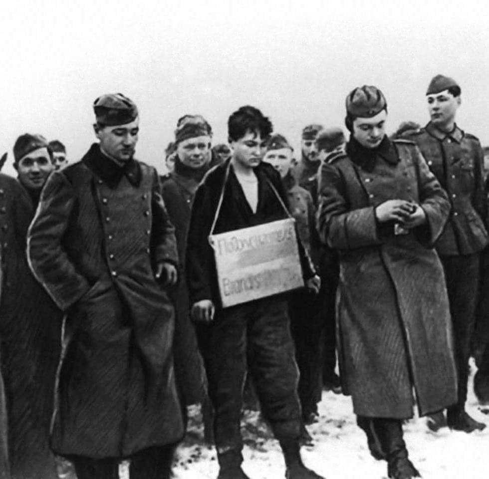 Как советские солдаты мстили немцам, казнившим Зою Космодемьянскую