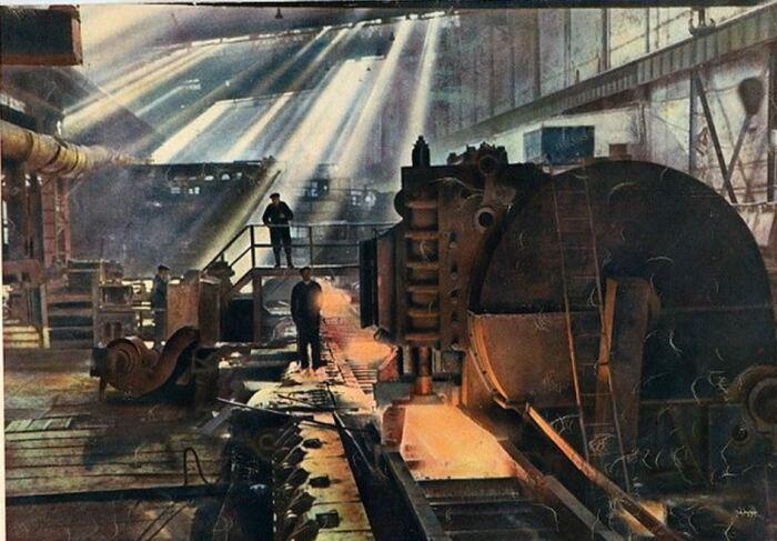 Только индустриализация помогла решить проблему с речным транспортом. |Фото: ex-press.by.
