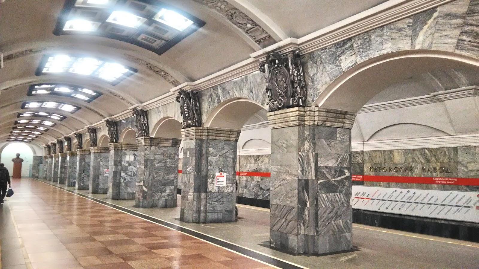 Самые красивые станции Санкт-Петебургского Метрополитена
