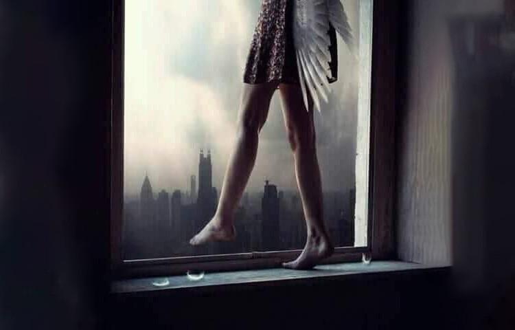 """""""Нужно жить для..."""" добросказ из VK (печальный, но...открывающий дверь, когда совсем нет надежды)"""