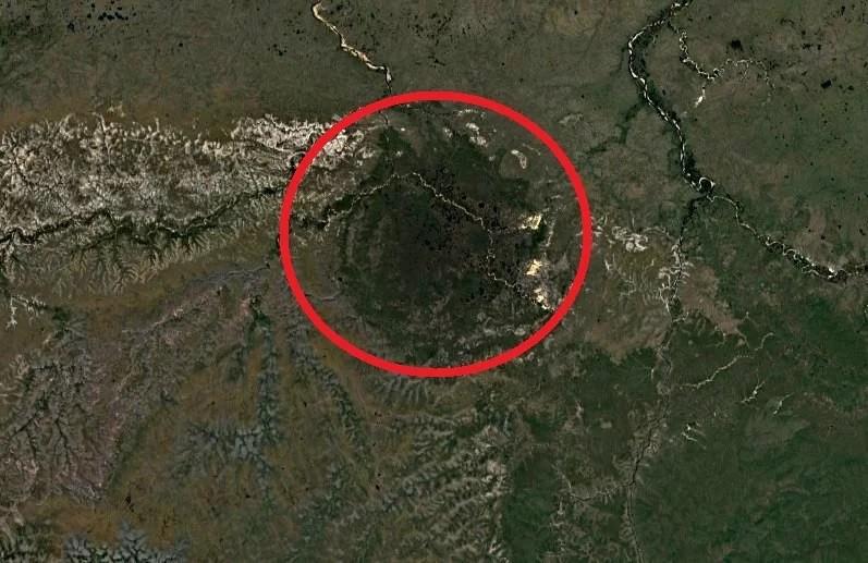 Попигайский кратер — «звездная рана» на теле сибири