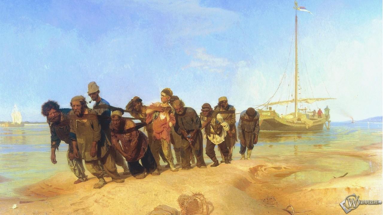 Зачем в России нужны были бурлаки, когда уже существовали пароходы?