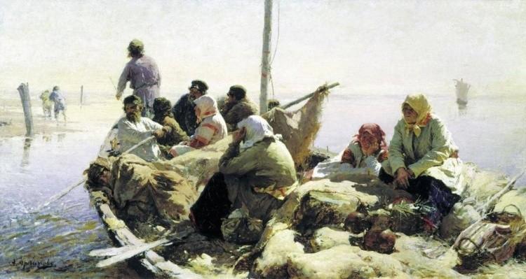 художник Абрам Ефимович Архипов картины – 01