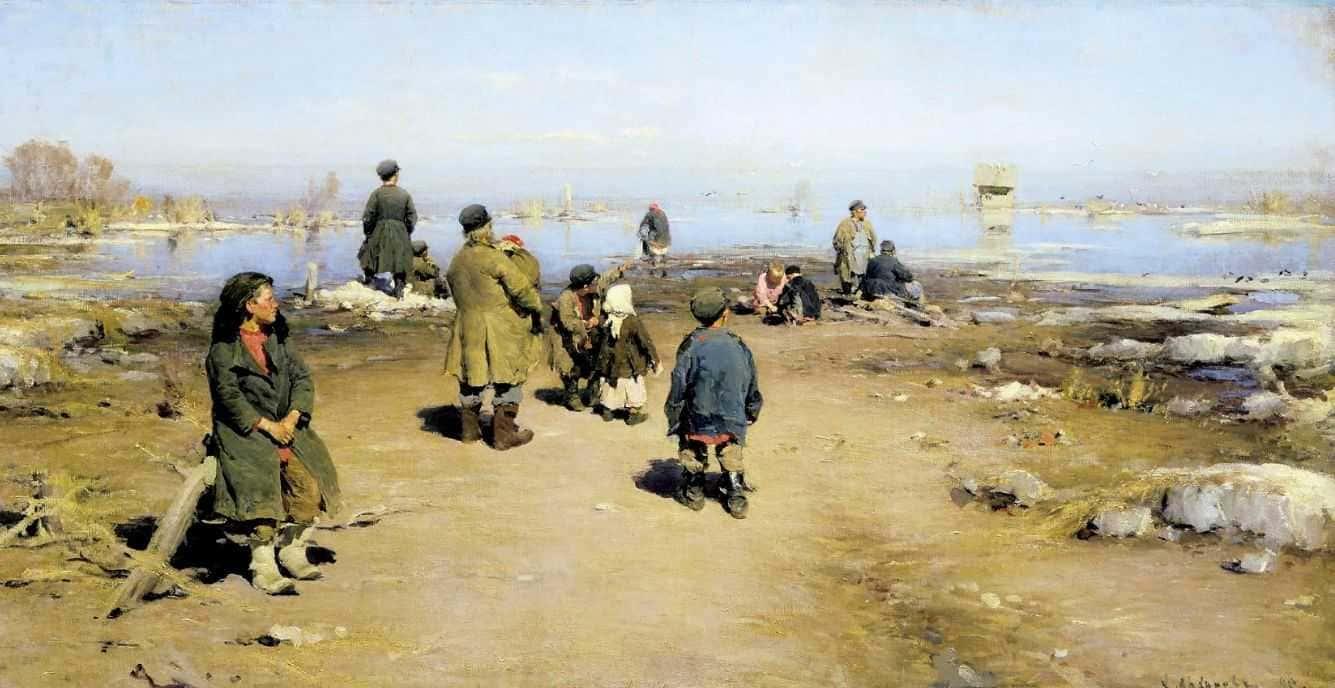 Художник Абрам Архипов (1862 – 1930)