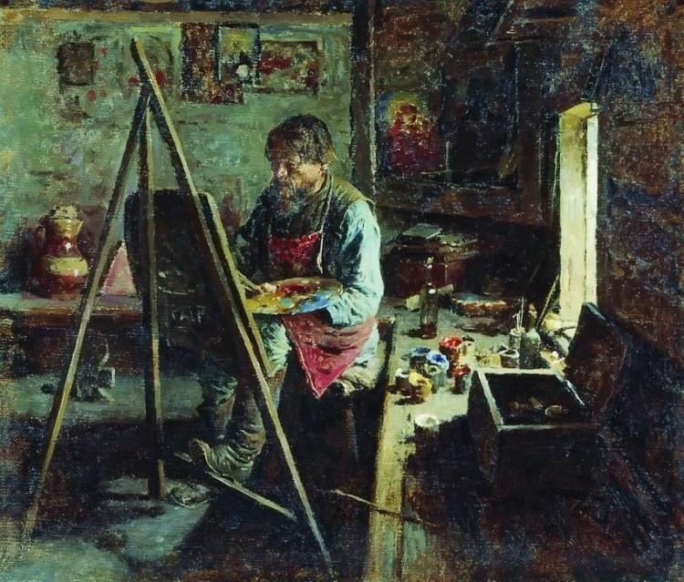 художник Абрам Ефимович Архипов картины – 09