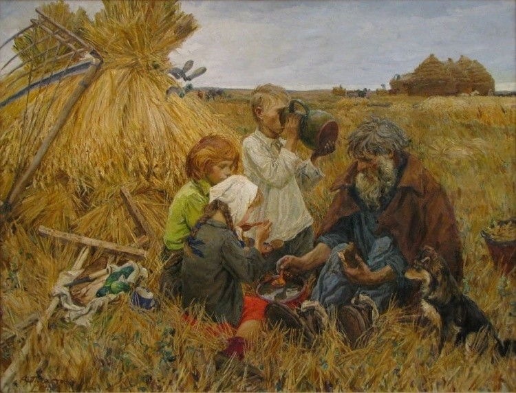 художник Аркадий Пластов картины – 12