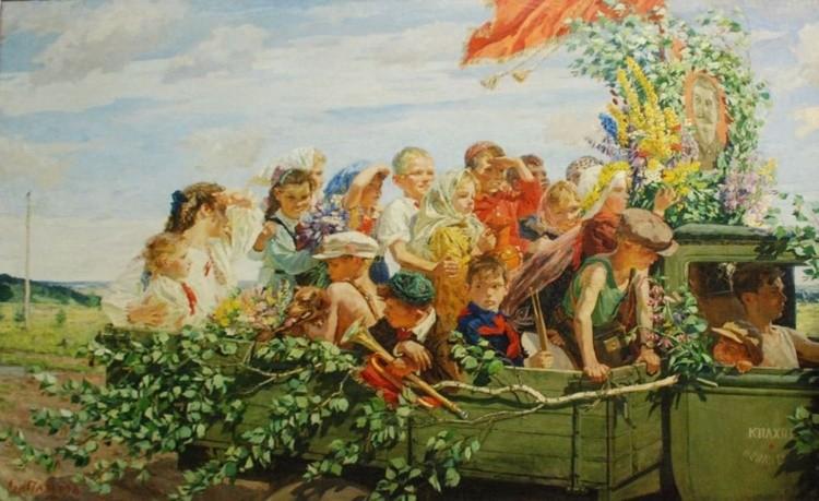 художник Аркадий Пластов картины – 19