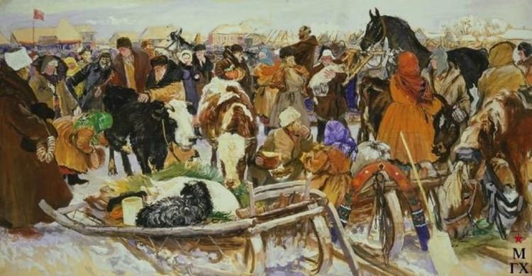 художник Аркадий Пластов картины – 32