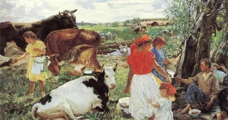 художник Аркадий Пластов картины – 40