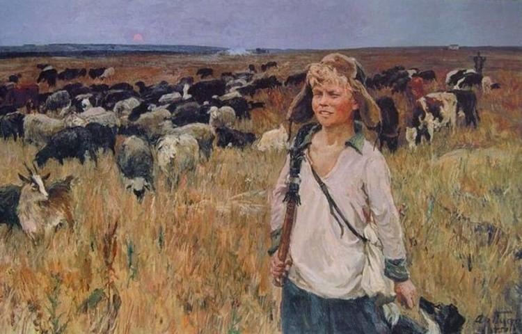 художник Аркадий Пластов картины – 41