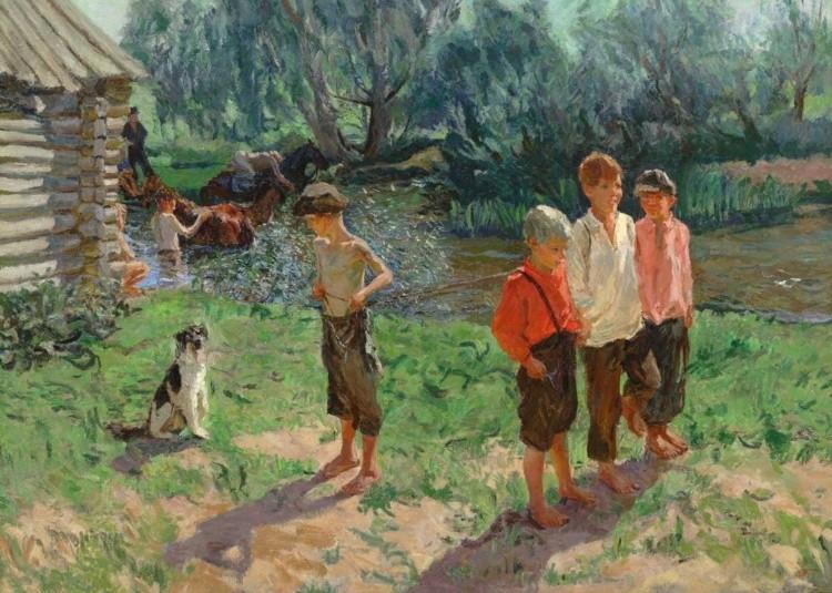 художник Аркадий Пластов картины – 43