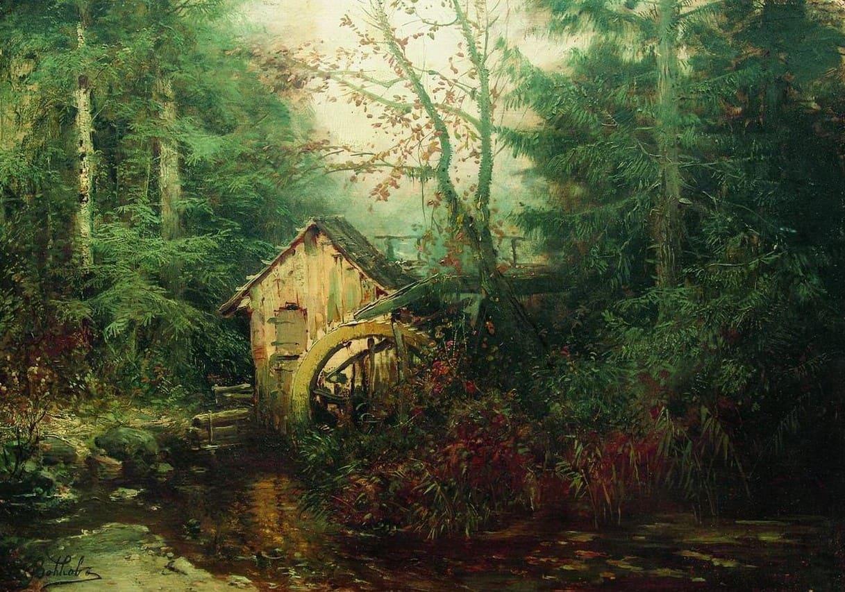 Художник Ефим Волков (1844 – 1920). Мэтр русского пейзажа