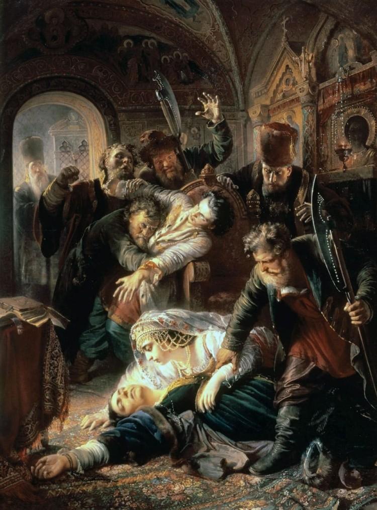 художник Константин Егорович Маковский картины – 03