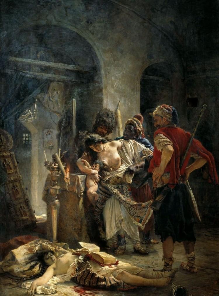 художник Константин Егорович Маковский картины – 06