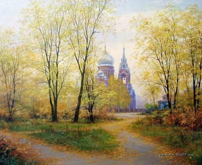 художник Николай Бусыгин картины – 05