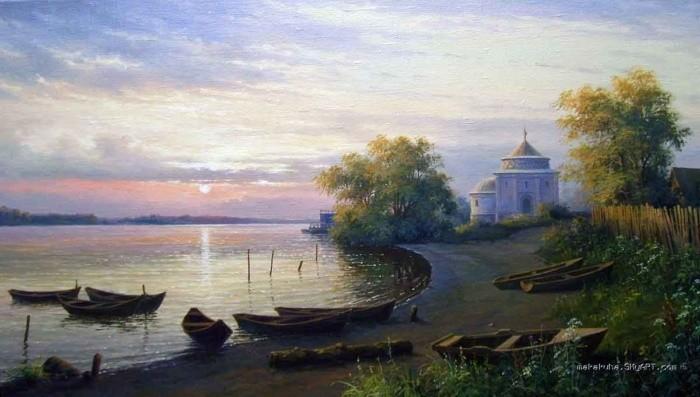 художник Николай Бусыгин картины – 08