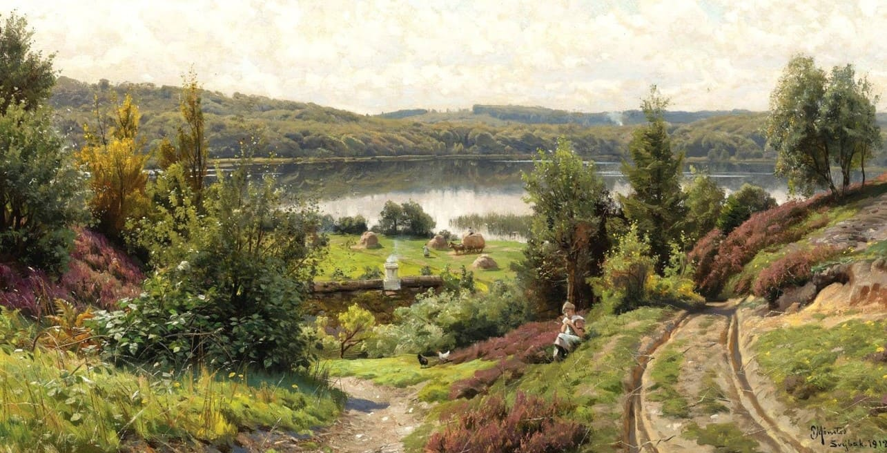 Художник Peder Mørk Mønsted (1859 — 1941)