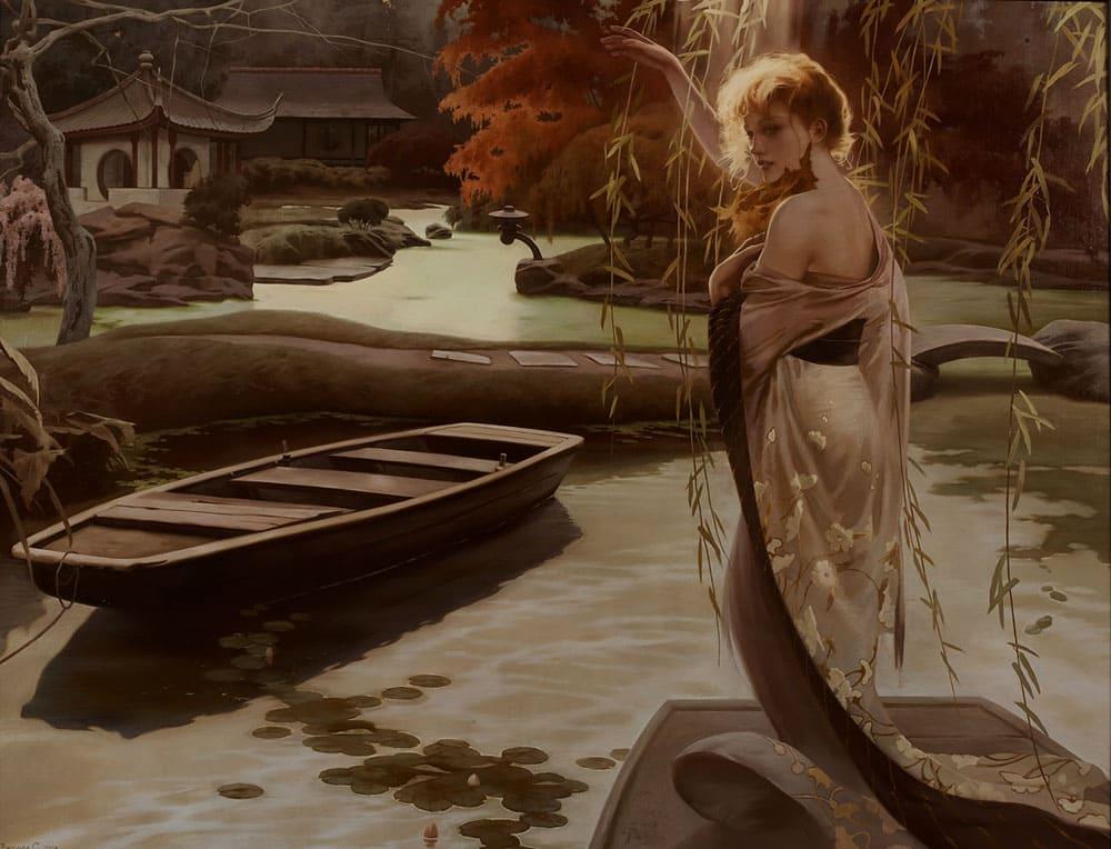 Художник Светлана Валуева. Красота в стиле Арт-нуво