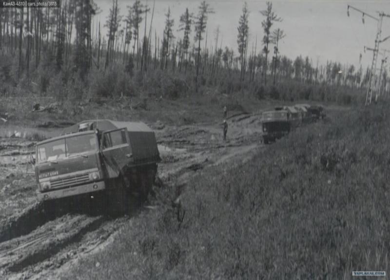 История рождения КамАЗ-4310