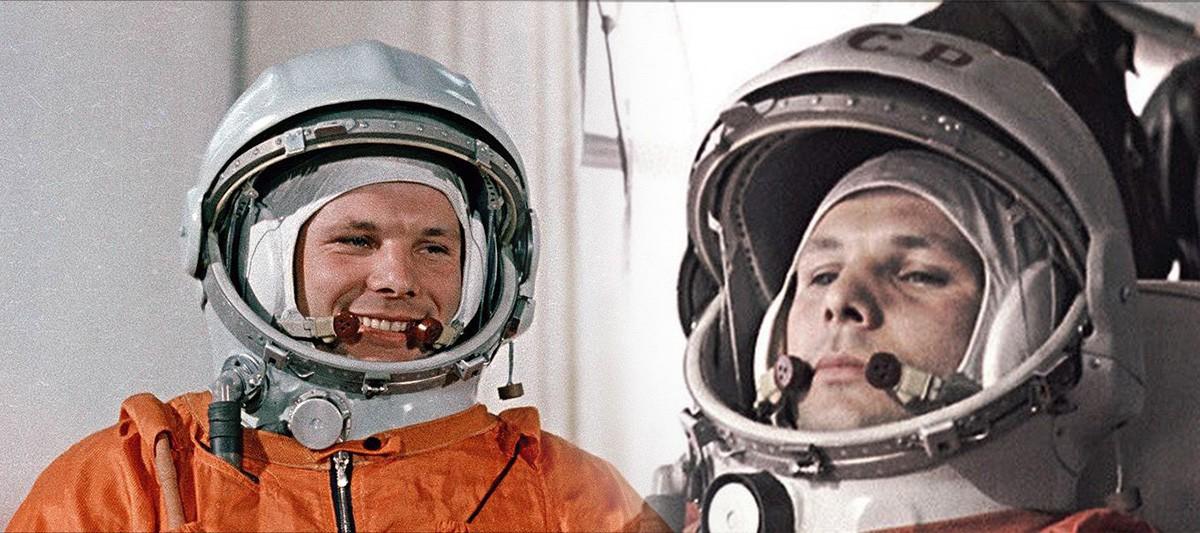 Откуда взялась или куда делась надпись СССР на шлеме Гагарина