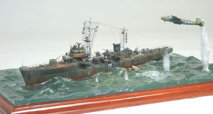 Japanese Navy Cormorant vs B25 Mitchell