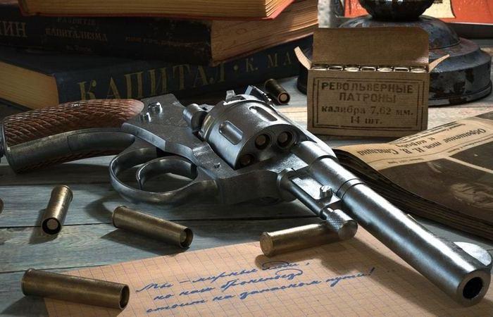"""За что русские офицеры не любили револьвер """"Наган"""""""