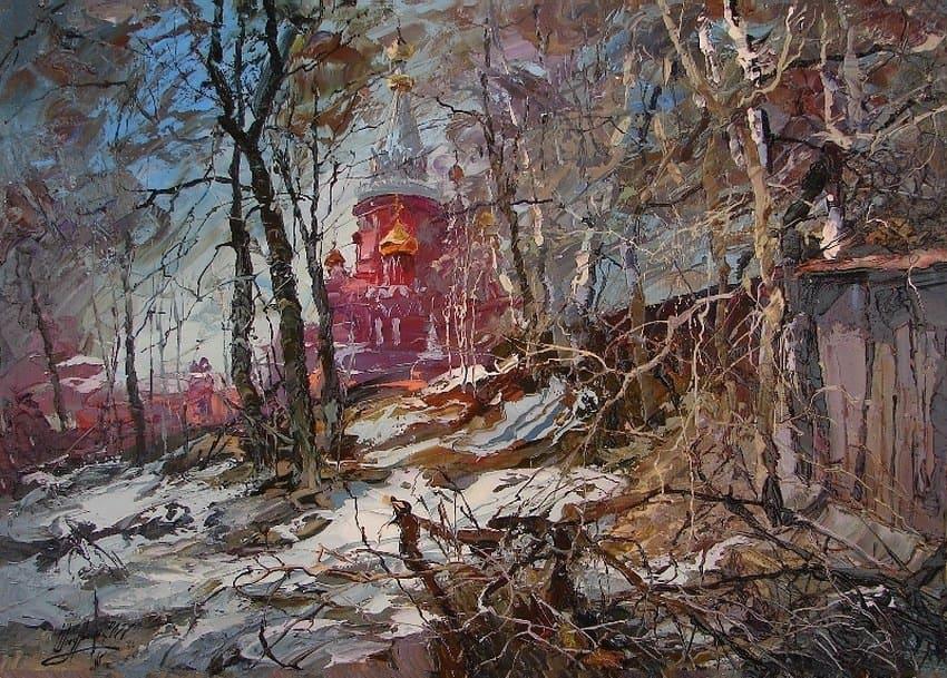 Художник Александр Шадрин. Пейзажи, нарисованные светом и дождём