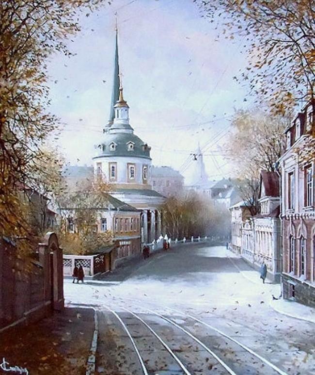 художник Александр Стародубов картины - 03
