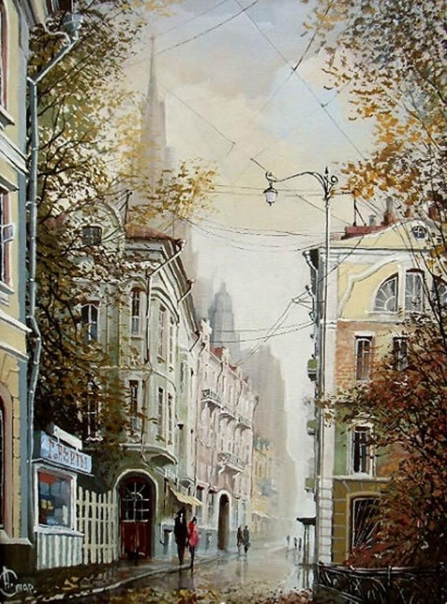 художник Александр Стародубов картины - 04