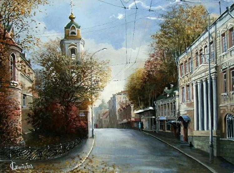 художник Александр Стародубов картины - 06