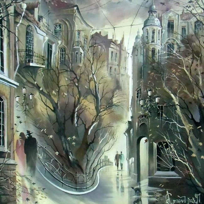 художник Александр Стародубов картины - 07