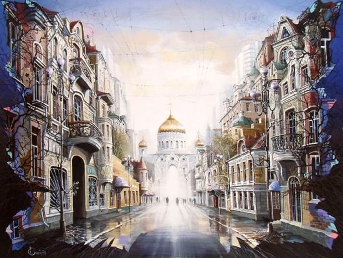художник Александр Стародубов картины - 10