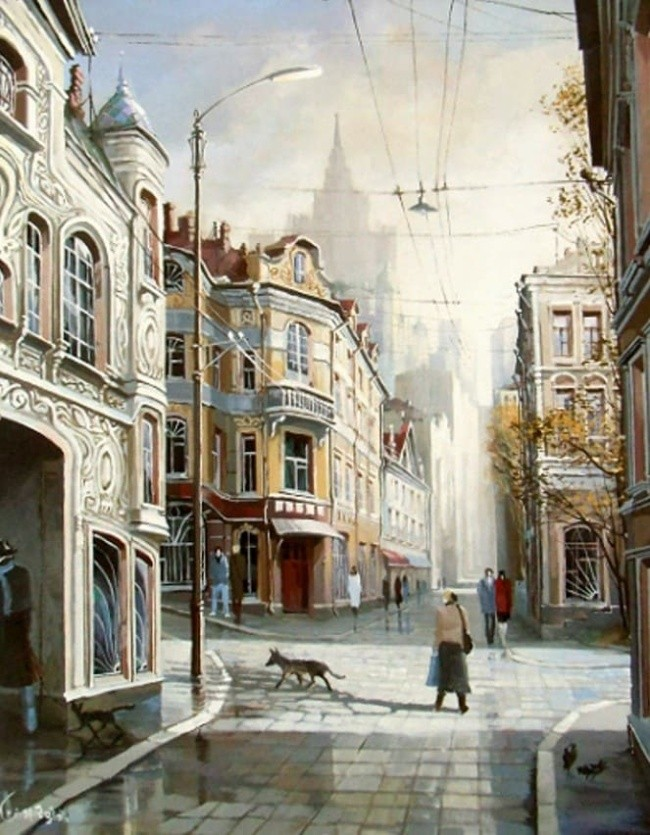 художник Александр Стародубов картины - 12