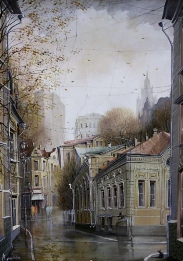 художник Александр Стародубов картины - 17