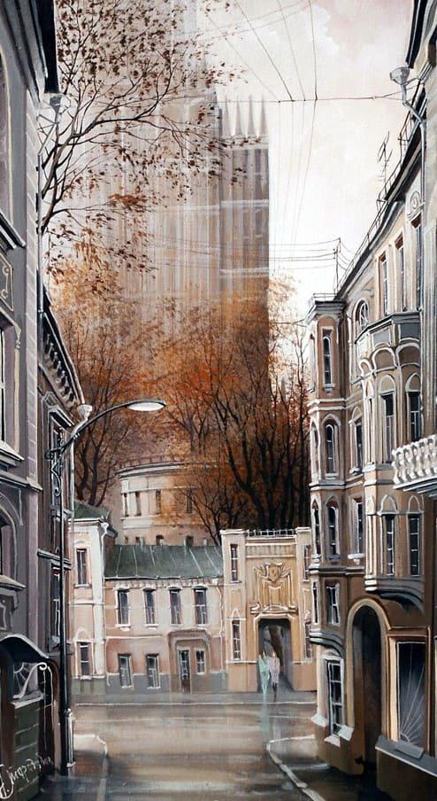 художник Александр Стародубов картины - 18