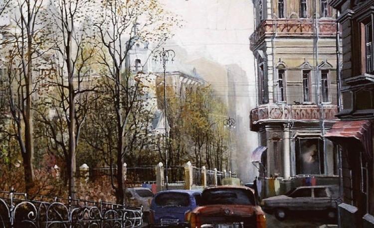 художник Александр Стародубов картины - 19