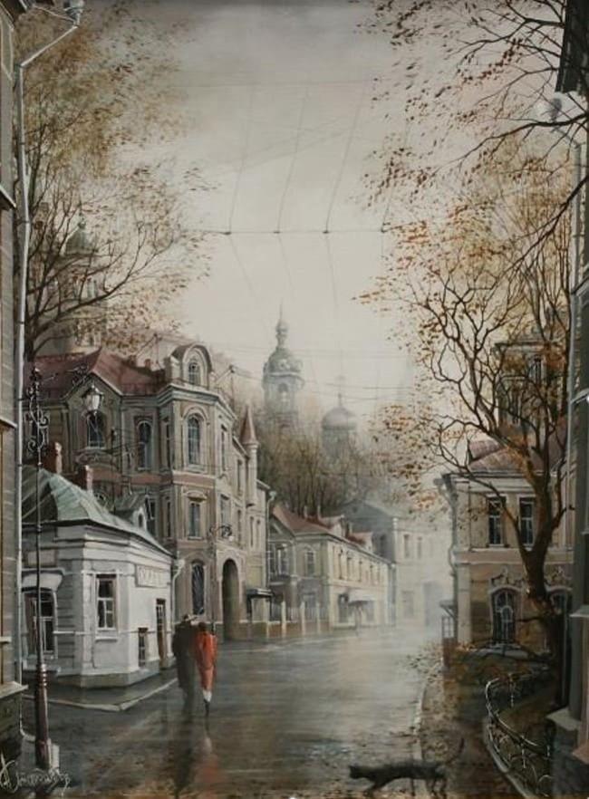 художник Александр Стародубов картины - 22