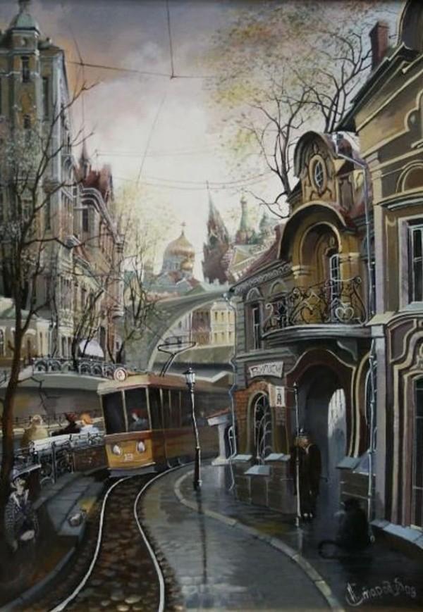 художник Александр Стародубов картины - 23