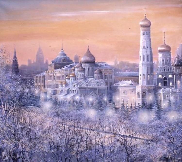 художник Александр Стародубов картины - 25
