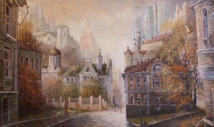 художник Александр Стародубов картины - 30