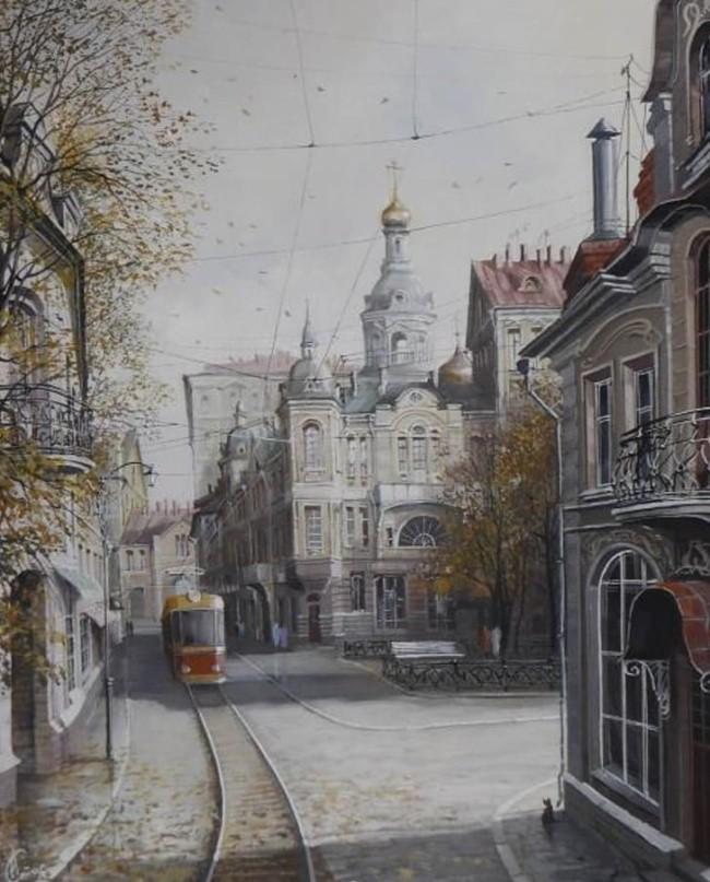 художник Александр Стародубов картины - 34
